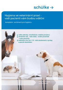 Dezinfekce a antisepse ve veterinární praxi