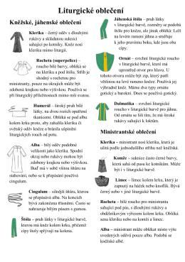 Liturgické oblečení