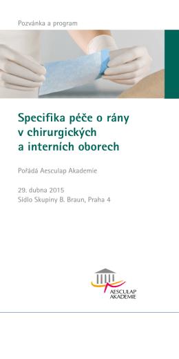 Péče o rány specifika, Praha Chodov 2014 (PDF)