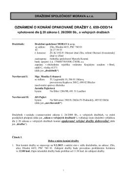 Dražební vyhláška opakovaná RD Lanžhot 1286 1podpis