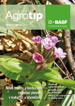 Nové trendy v herbicidní regulaci plevelů v kukuřici a slunečnici