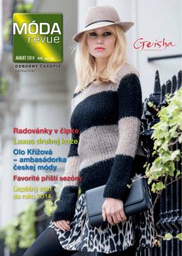 Aktuálne vydanie August 2014