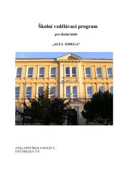 ŠVP - školní klub od 2.9.2013,2.verze