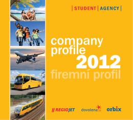 company profile firemní profil