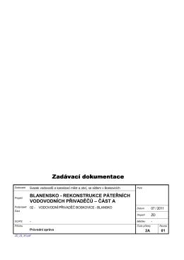 SO 02 Průvodní zpráva - Svazek vodovodů a kanalizací