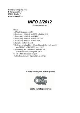 INFO 2/2012