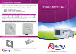 v1.3-04I12 - Pokojove termostaty - A3 - CZ.indd
