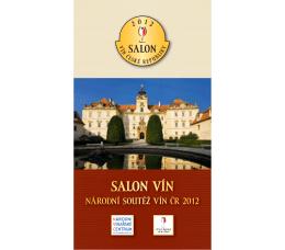 Katalog Salonu vín ČR ročník 2012 (PDF, 10,1 MB)