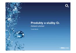 Produkty a služby O2