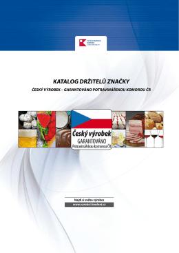 Katalog držitelů značky Český výrobek
