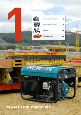 Motorové stroje Heron 2013