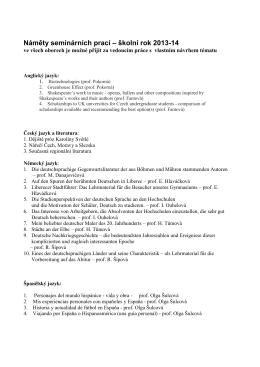 Vypsaná témata pro školní rok 2013-2014 (PDF)