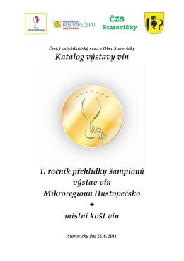 Šampioni Starovičky 2011 pdf