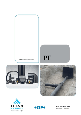 Materiálové provedení PE - TITAN