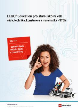 LEGO® Education pro starší školní věk