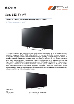 LED TV W7 - AVITSmart