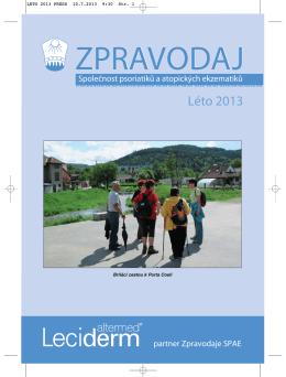 Léto 2013 - dermanet.eu