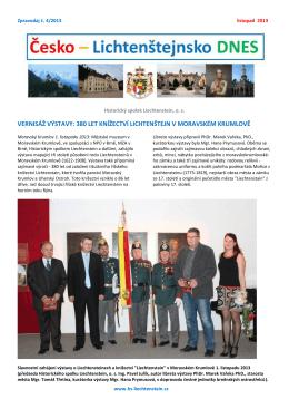 380 let knížectví lichtenštejn v moravském krumlově