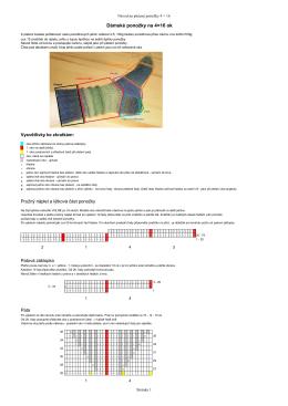 Dámské ponožky na 4×16 ok