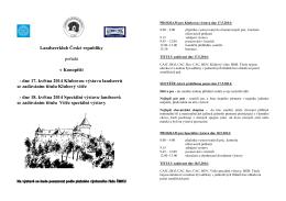 dne 17. května 2014 Klubovou výstavu landseerů se zadáván