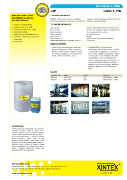 Xintex: Glass-X Pro [web]