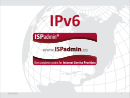 IPv6 Adresy - typ unicast