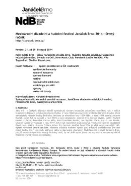 Mezinárodní divadelní a hudební festival