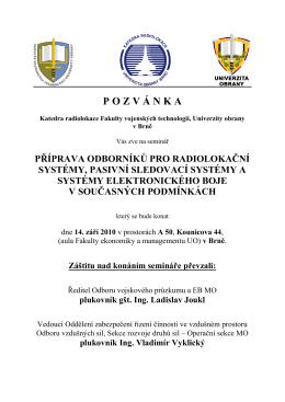 stáhnout zde... - Radiolokace.cz