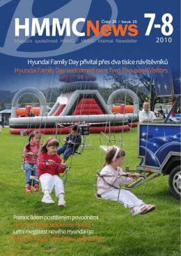 Hyundai Family Day přivítal přes dva tisíce návštěvníků Hyundai