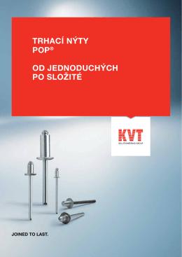 POP® Trhací nýty | KVT
