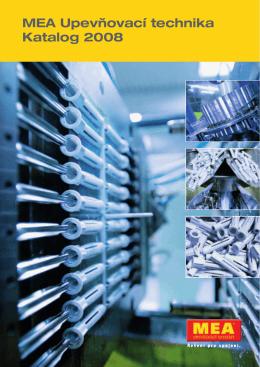 MEA Upevňovací technika Katalog 2008