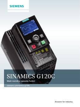 SINAMICS G120C - Siemens, s.r.o.