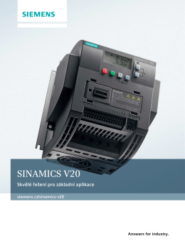 SINAMICS V20
