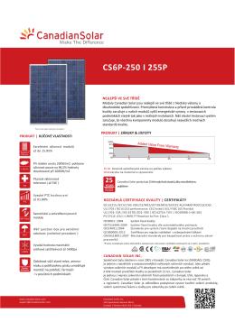 CS6P-250 I 255P