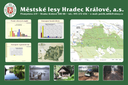 zelena velka cedule.indd - Městské lesy Hradec Králové as