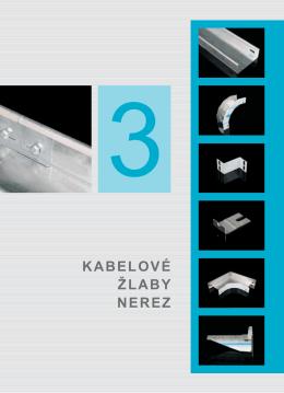Kabelové žlaby - NEREZ