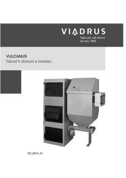 VULCANUS Návod k obsluze a instalaci