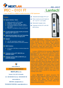 IPEC-0101FT Datasheet (CZ, pdf)
