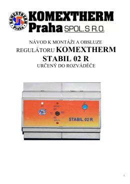 STABIL 02 R - KOMEXTHERM Praha spol. s ro