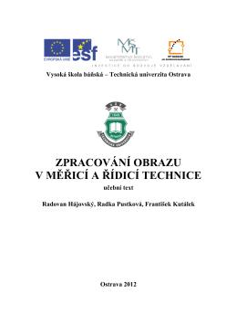 Studijní text [pdf] - Vysoká škola báňská