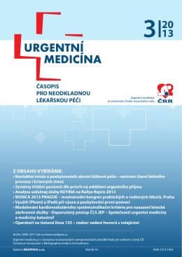3/2013 - Urgentní medicína