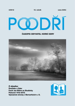 4/2012 v PDF - Časopis Poodří