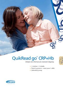 QuikRead go® CRP+Hb