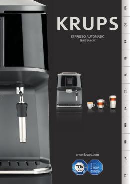 www.krups.com ESPRESSO AUTOMATIC