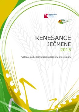 Renesance jecmene 2015.pdf - Česká technologická platforma pro
