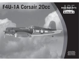 Hangar 9 Corsair 20cc - Absolu