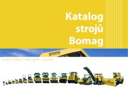 Katalog strojů Bomag