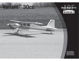 Valiant™ 30cc - Horizon Hobby