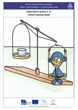 Laboratorní práce č. 4: Určení hustoty látek