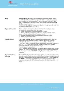 HONTER CZ TDS FROTH PAK 180 QR Kit 291-90419-1112